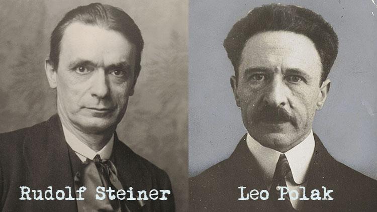 Rudolf Steiner und Leo Polak